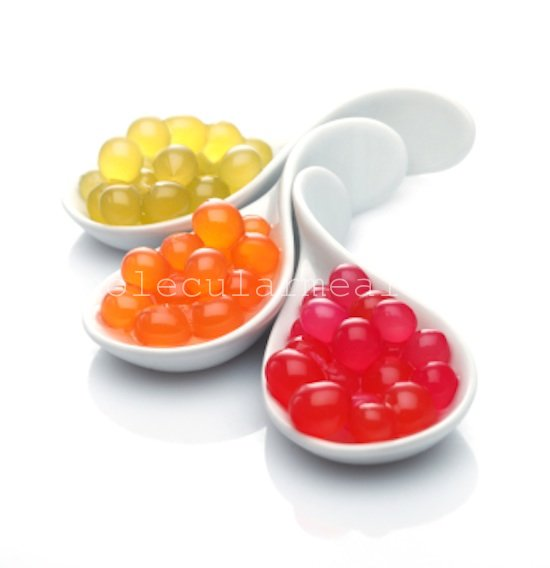 сферификация в молекулярной кухне
