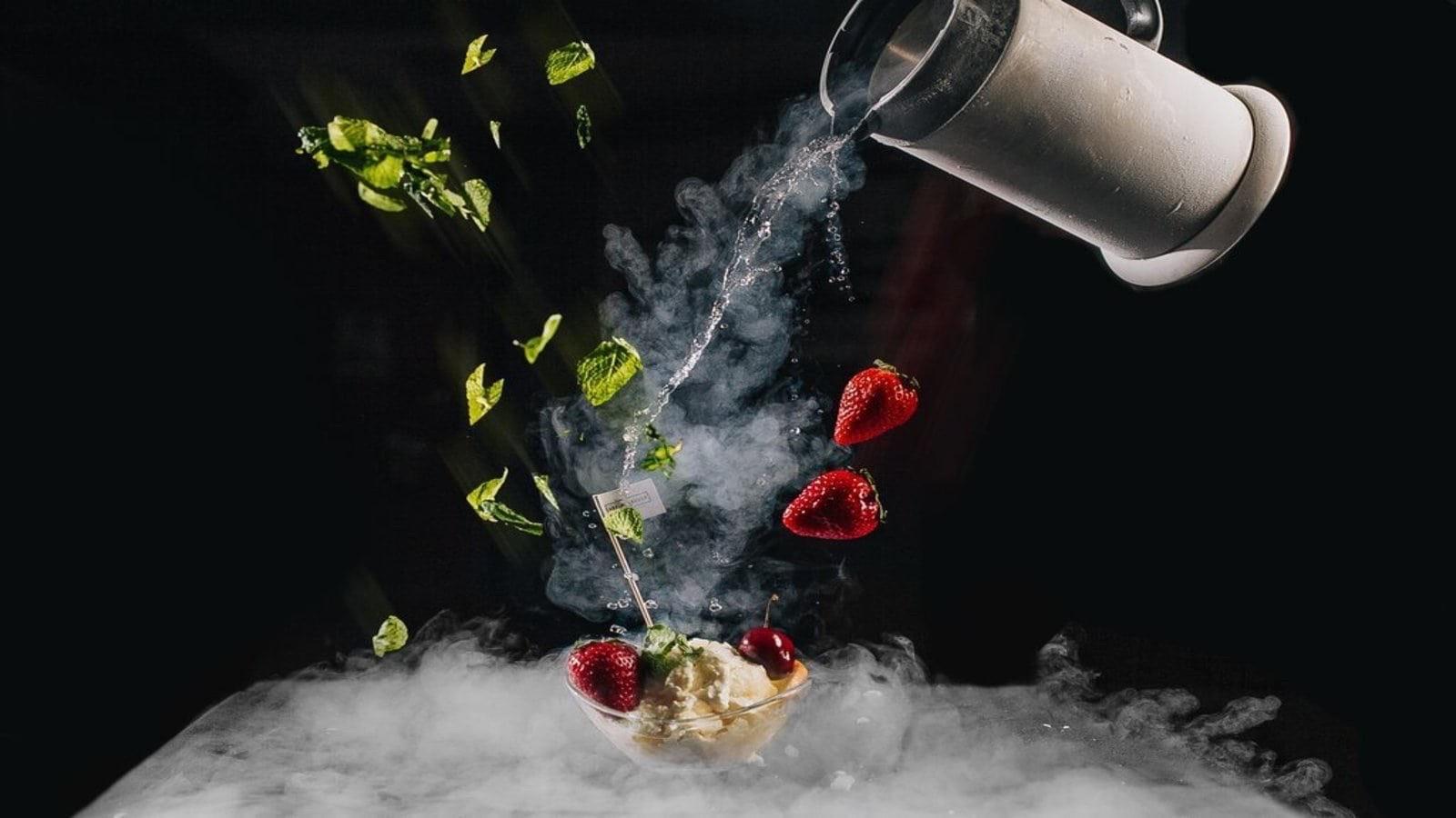 Жидкий азот в молекулярной кухне