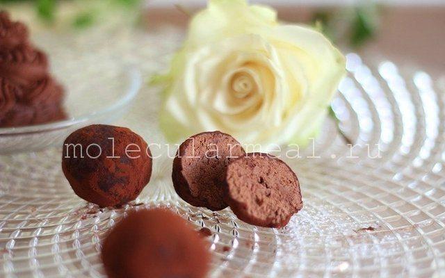 Шоколадный мусс Шантильи. Молекулярная кухня