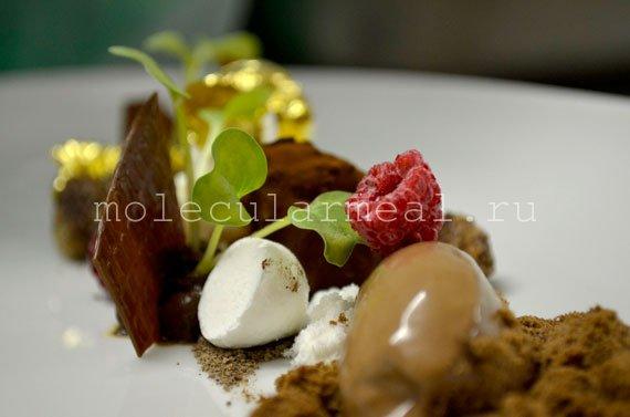 Молекулярная кухня. Шоколадный мусс