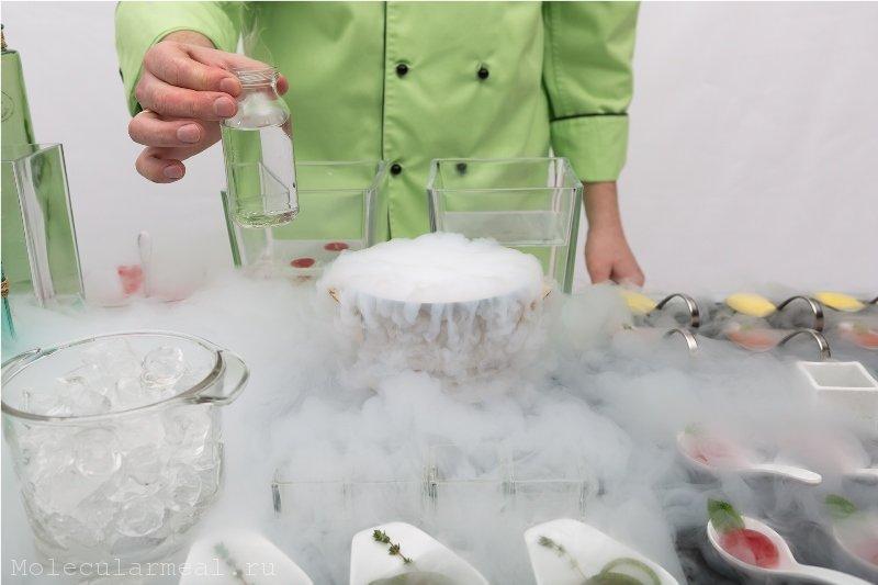 кулинарный мастер-класс по молекулярной кухне